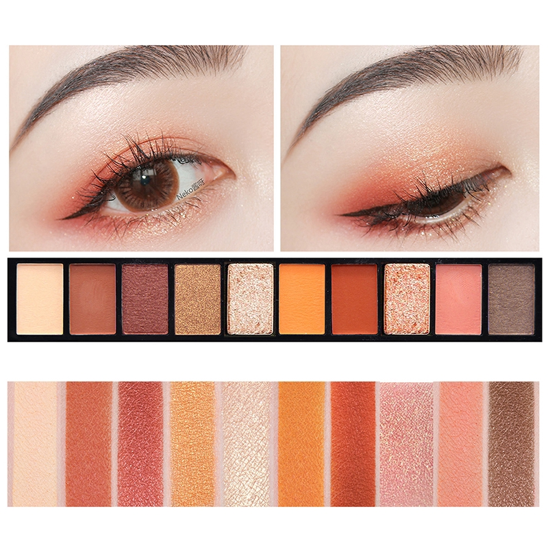 Novo 10 Colors Makeup Palette Natural