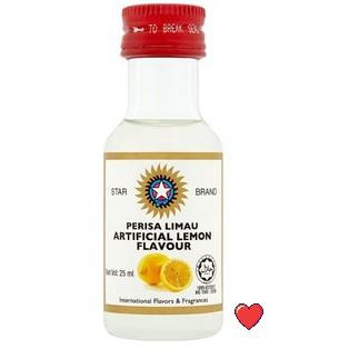 Star Brand Artificial Lemon Flavour / Perisa Limau @ 25ml ( Free fragile + bubblewrap packing )