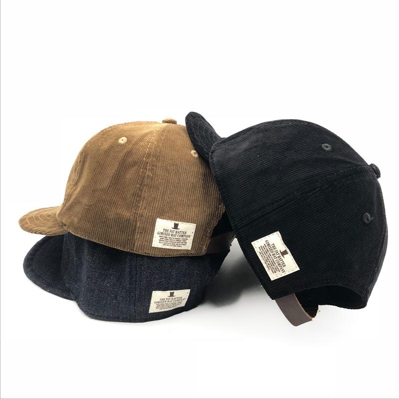 9b11a3c9d520f2 ProductImage. ProductImage. American Vintage Corduroy Short Corduroy Hat  Japanese Cowboy Street Cap