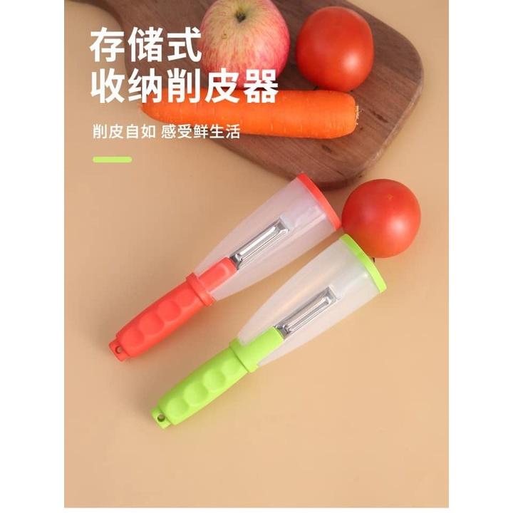 [ Ready Stock ] Peeler with Storage   储存式削皮器