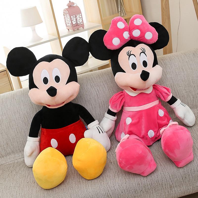 Christmas Minnie Mouse Plush.1pcs Mickey Or Minnie Mouse Plush Toy Doll For Birthday Christmas Gift