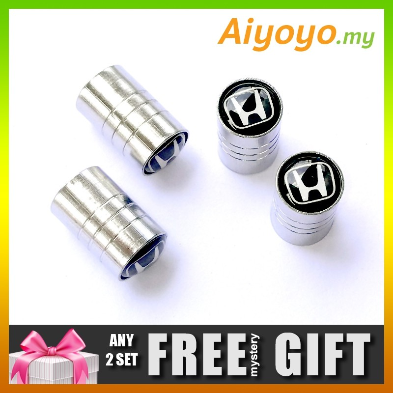 Smart 4x Volkswagen Vw Car Logo Tyre Valve Caps With Gift Pouch Automobilia Buy 2 Get 1 Free Soft And Antislippery