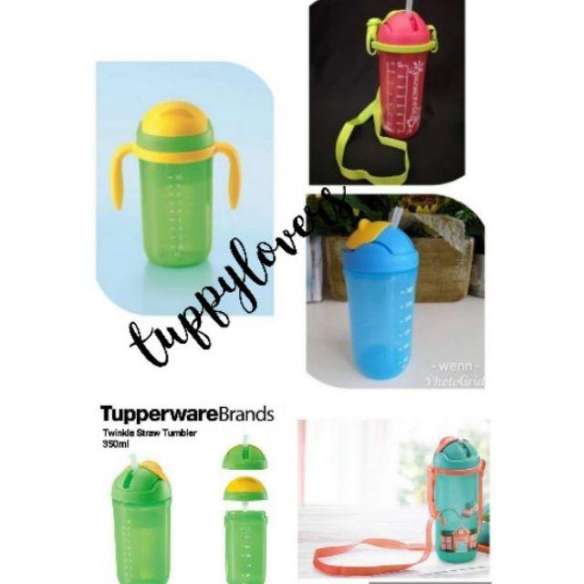 Tupperware twinkle straw tumbler