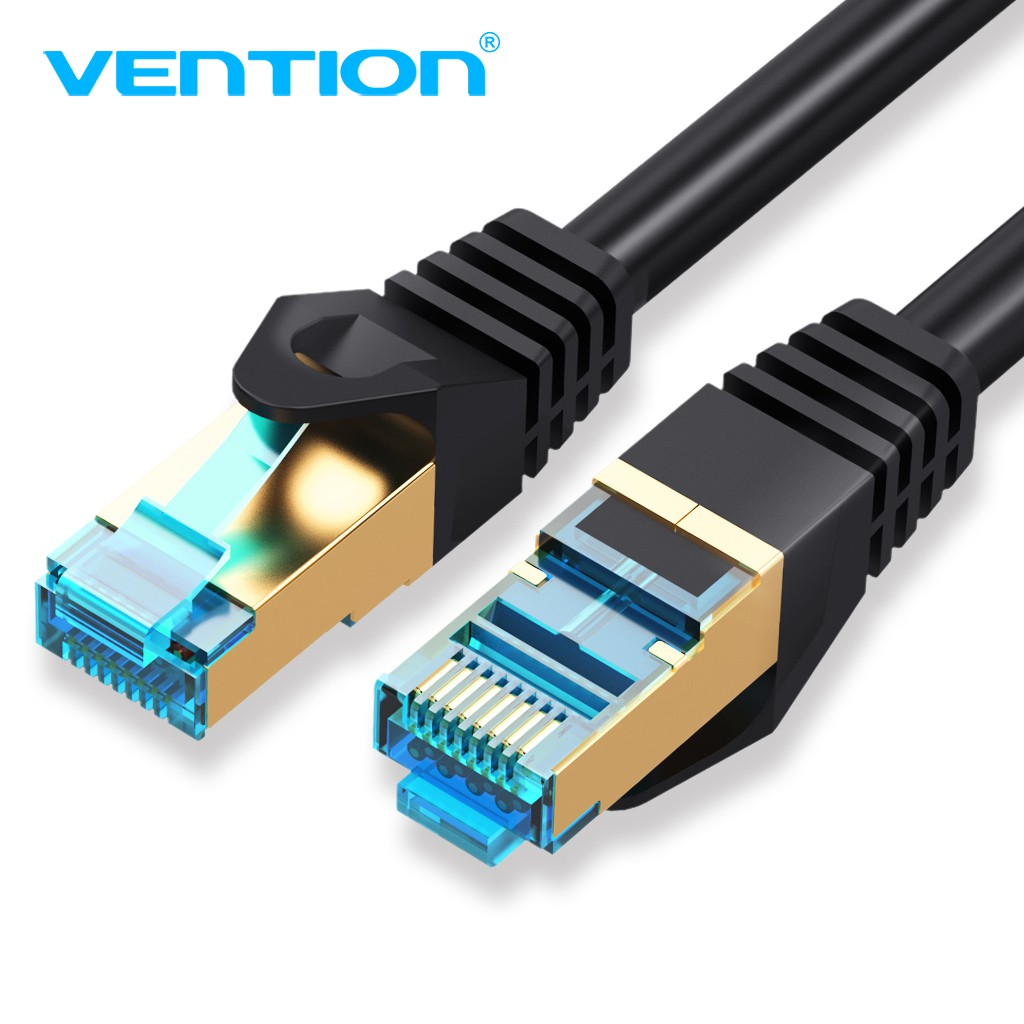 Cat7 Ethernet Cable 10 Gigabit Shielded Network RJ45 Patch Cord for PC PS4 PS3