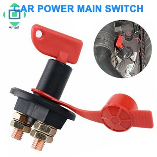 12V 300A Battery Main Switch Disconnector Isolator Cut Off Disconnect Power  for Car Boat