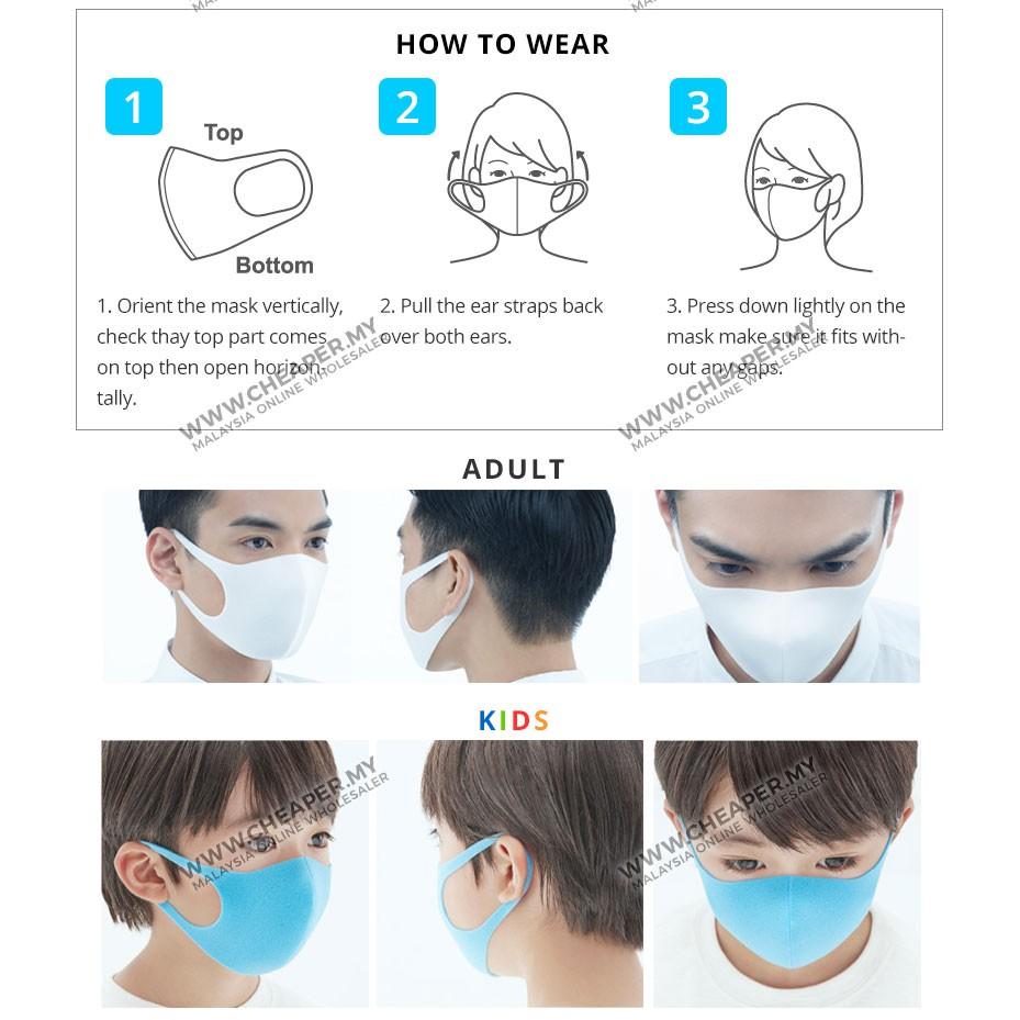 Slim Stock⭐unisex 2mm Mask Fashion Face Stylish ⭐ready Trendy Thinness Dust Anti