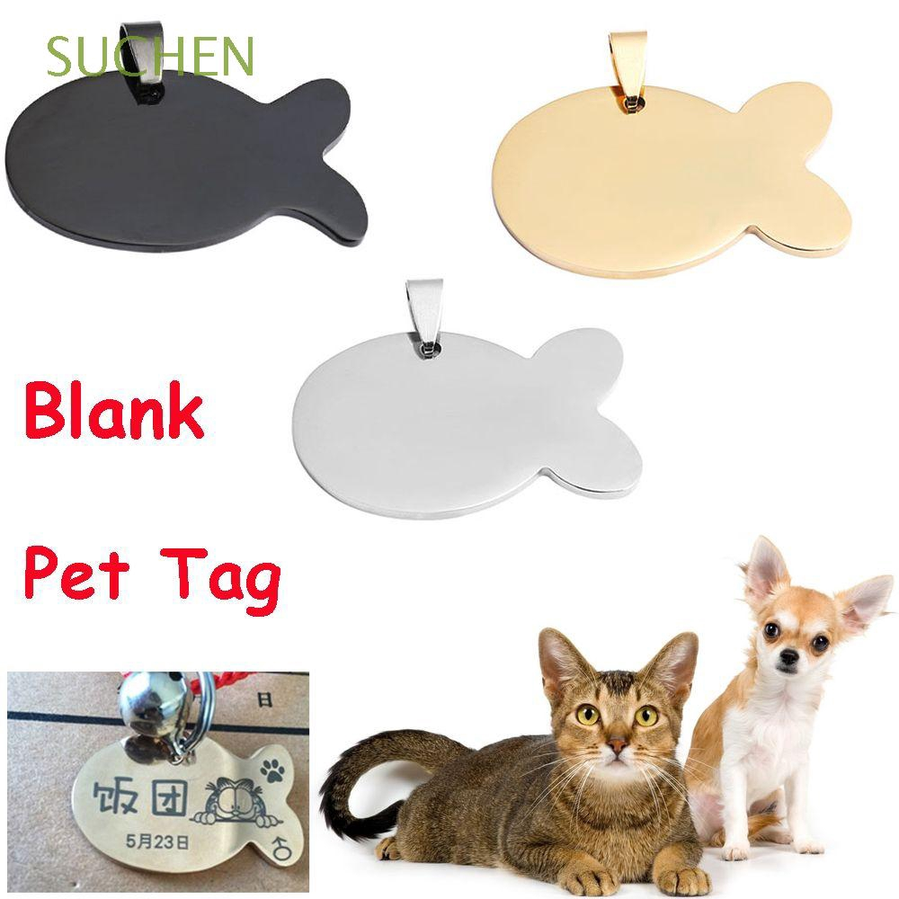 d95a04e744d7 Stainless Steel Glitter Custom Pet Dog Tag Personalized Engraved Feet Card  | Shopee Malaysia