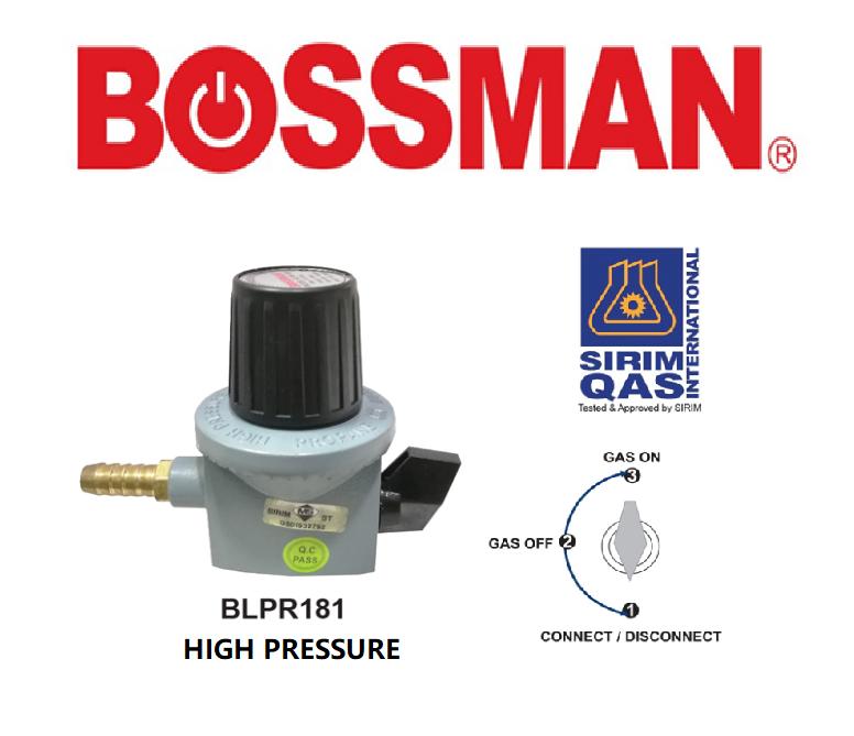 BOSSMAN BLPR181 GAS REGULATOR ELECTRIC ACCESSORIES(SIRIM) KEPALA GAS