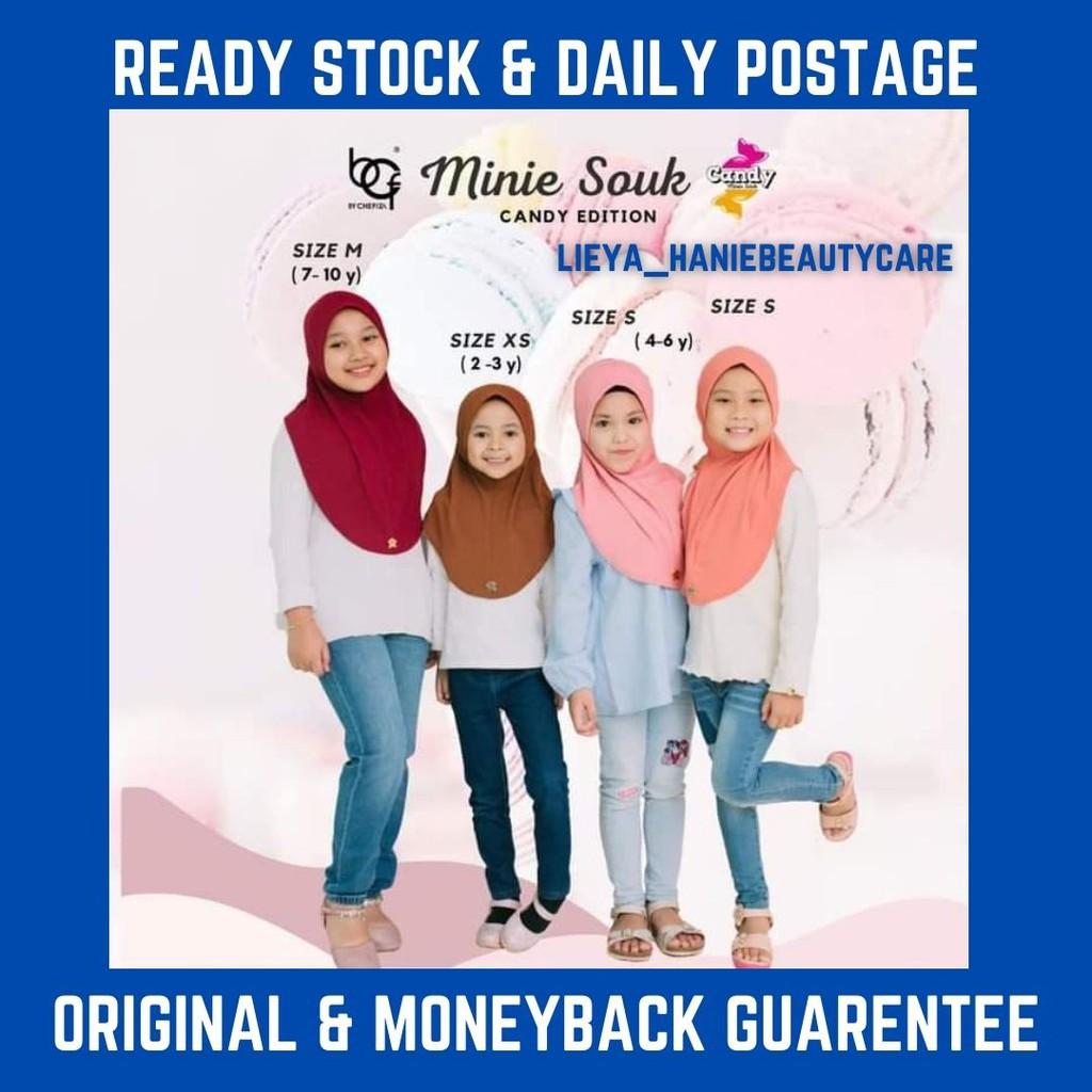 Buy 3pcs Get Free 1pcs PerfumeMinie Souk Kids Candy Edition Bcf | Tudung Sarung Budak Bcf