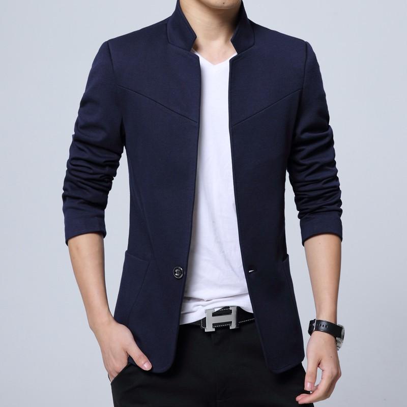 Men/'s Casual Slim Fit Formal One Button Suit Blazer Coat Jacket Tops Plus Size