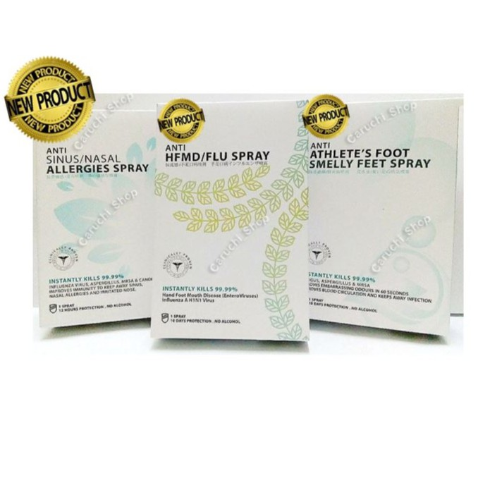 【THYMOS Sprays】💥HFMD/Flu - Anti Sinus/Nasal Allergies - Smelly Feet Spray💥