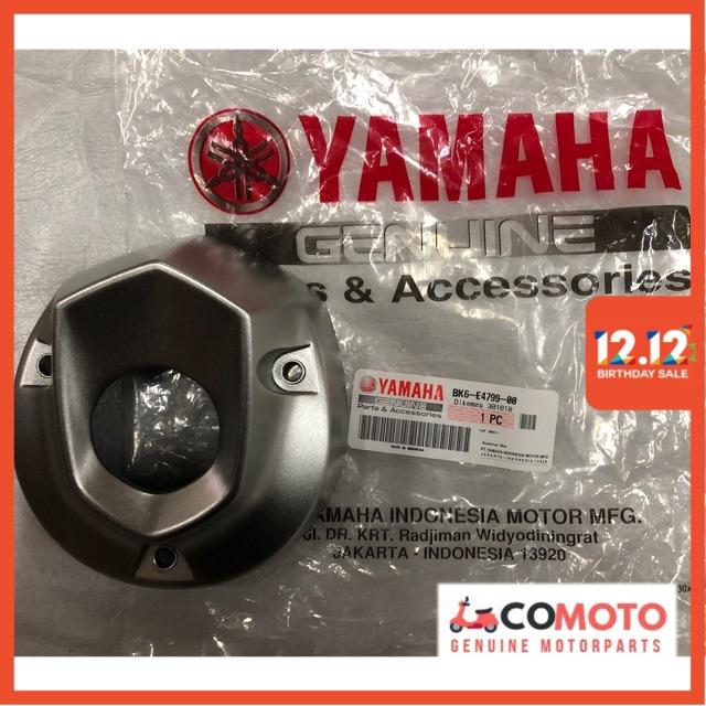 Yamaha R15 Silencer Cap / Exhaust Cover / Muffler Cap 100% Original Yamaha  Genuine Parts