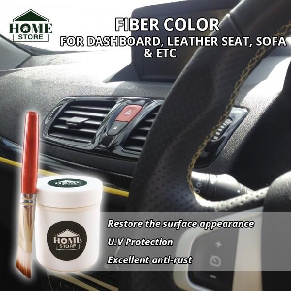 Home Store Fiber Color 100G (BLACK) C/W Applicator Brush