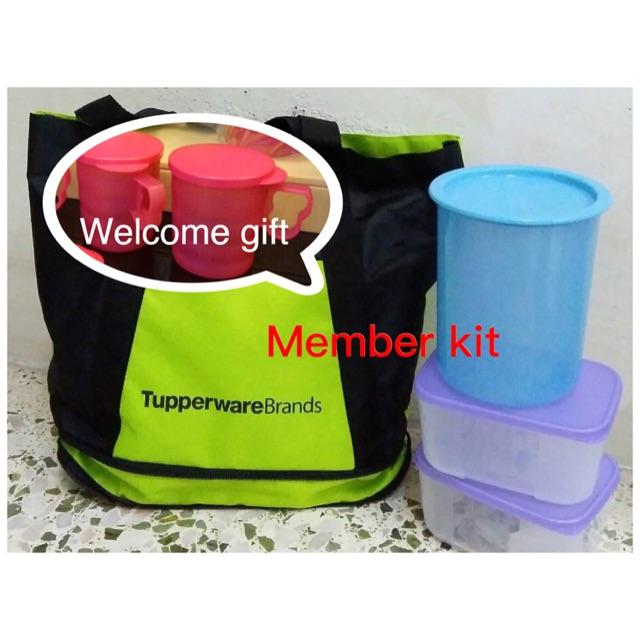 Tupperware member kit