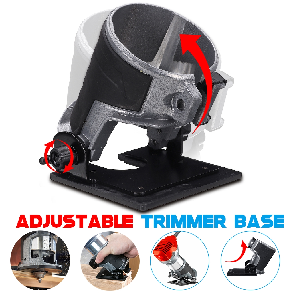 Trim Router Electric Woodworking Edge Molding Clean Cuts Power Tool Professional