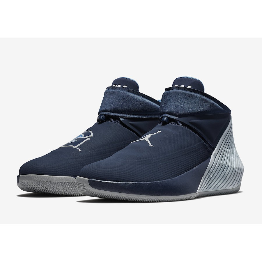 "7540cf59e7f65 Jordan Why Not Zer0.1 ""Georgetown"" College Navy Pewter Grey 