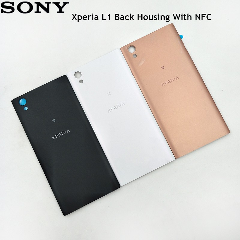 For Sony Xperia L1 Battery Door Back Cover Housing Case