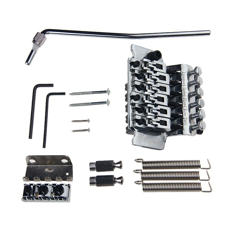Floyd Rose Double Locking Lic Tremolo System Bridge Kit Electric Guitar Bridges