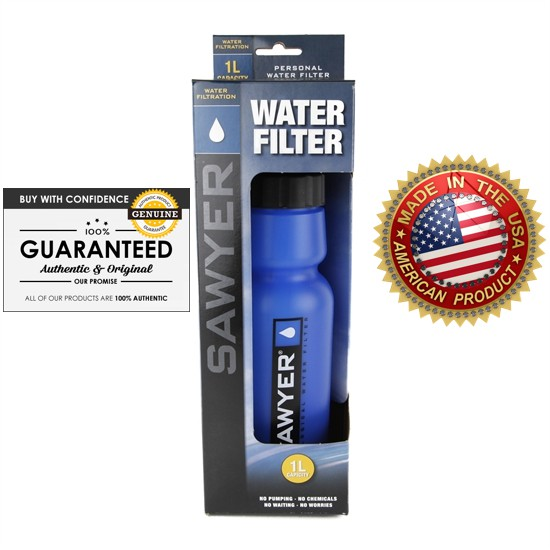 [GENUINE] SAWYER USA -  PERSONAL WATER BOTTLE WITH MINI FILTER (SP140)