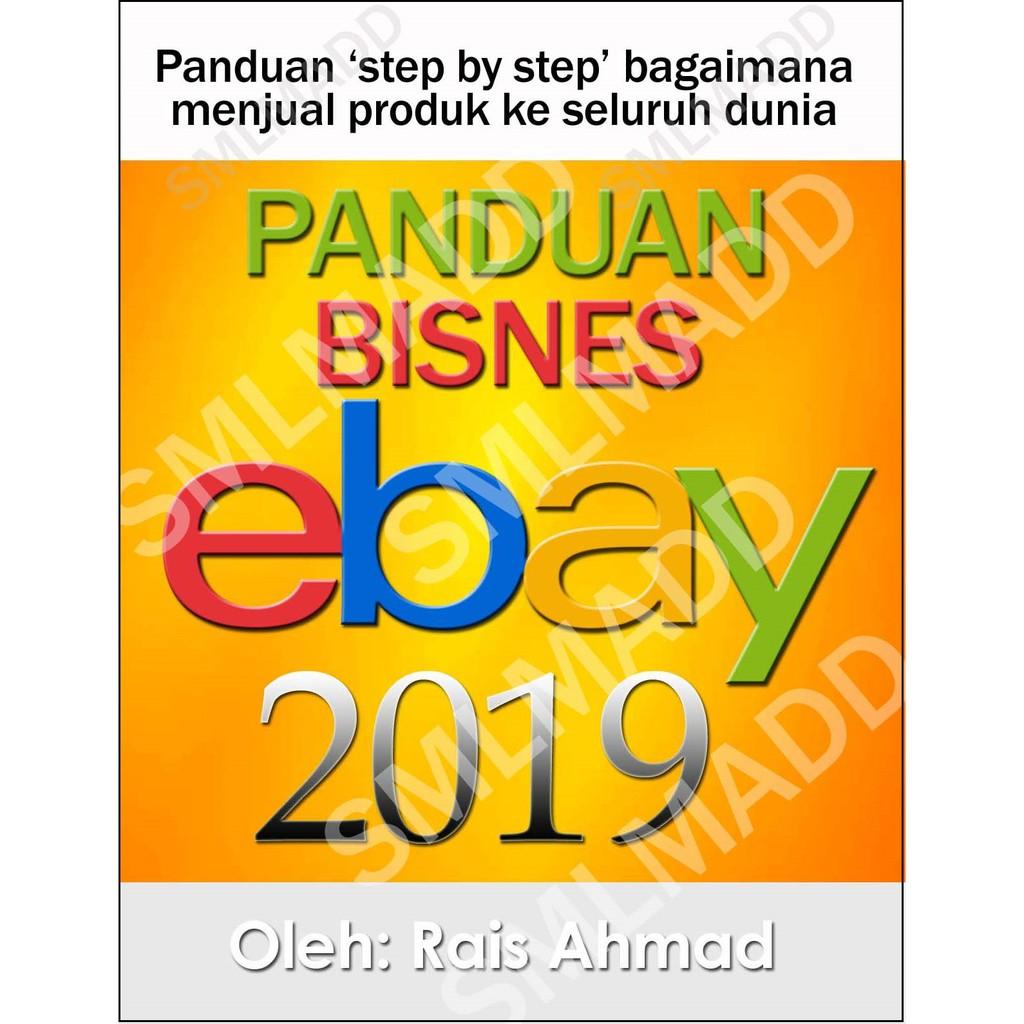 E-book Panduan Lengkap Jual Produk dan Dropship di ebay com + Support  Selepas Jualan + BONUS 7 EBOOK