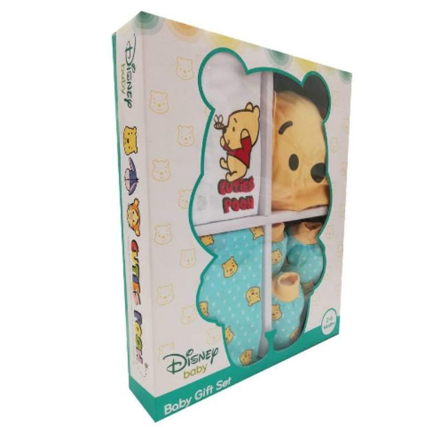2c724996f Disney Baby 10pc Gift Set Box Mickey Minnie Disney Baby Cloth | Shopee  Malaysia