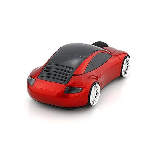 SPECTRONIX Porsche 911 Shaped Wireless Sports Car Mouse Optical & Ergonomic