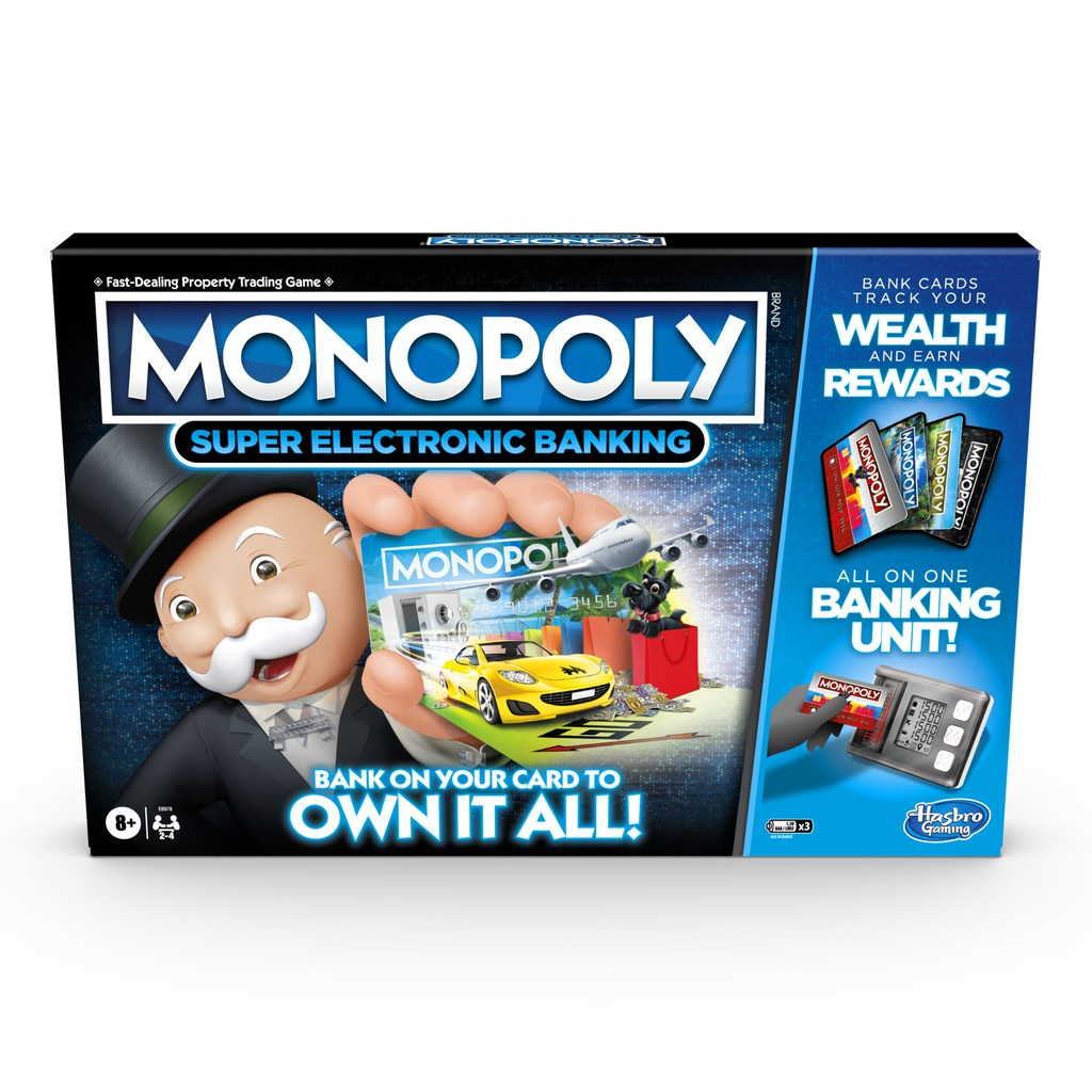 Hasbro Monopoly Game: Super Electronic Banking Edition (New)