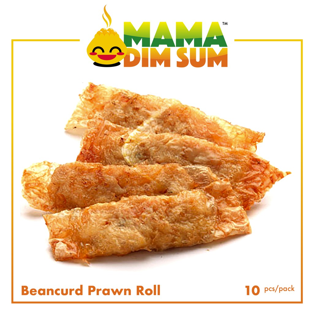(D066) Beancurd Prawn Roll (10pcs/pack)