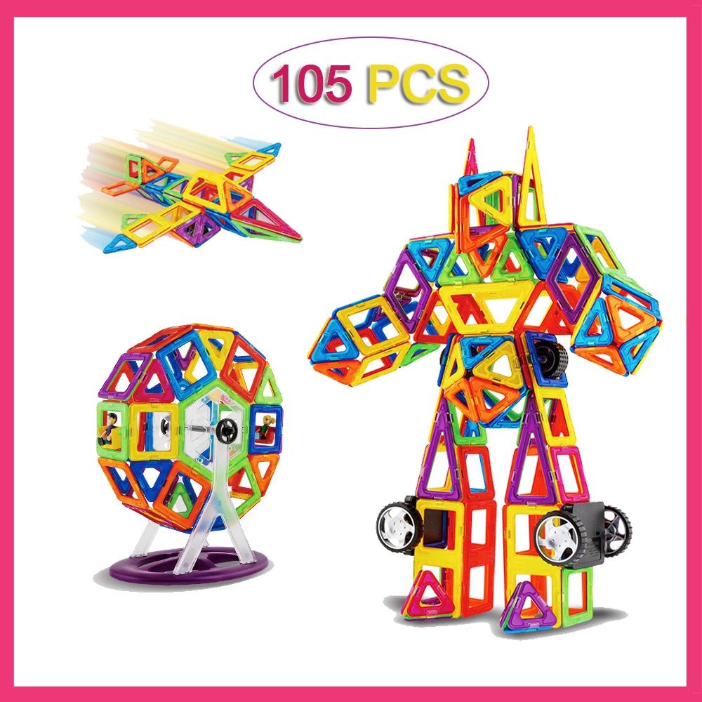105pcs magnetic lego friends building blocks lego duplo ...