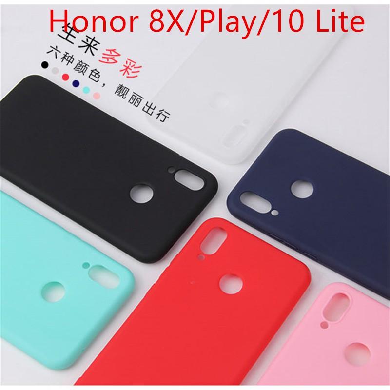 Huawei Honor 8s 8X 9X 10 Lite 20 20 Pro Play V20 thin Matte TPU phone  casing case cover