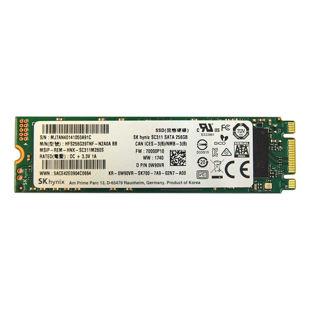 SK HYNIX HFS256G39TNF-N2A0A 256GB M.2 2280 SATA 3 6.0 GB//S SSD SOLID STATE DRIVE