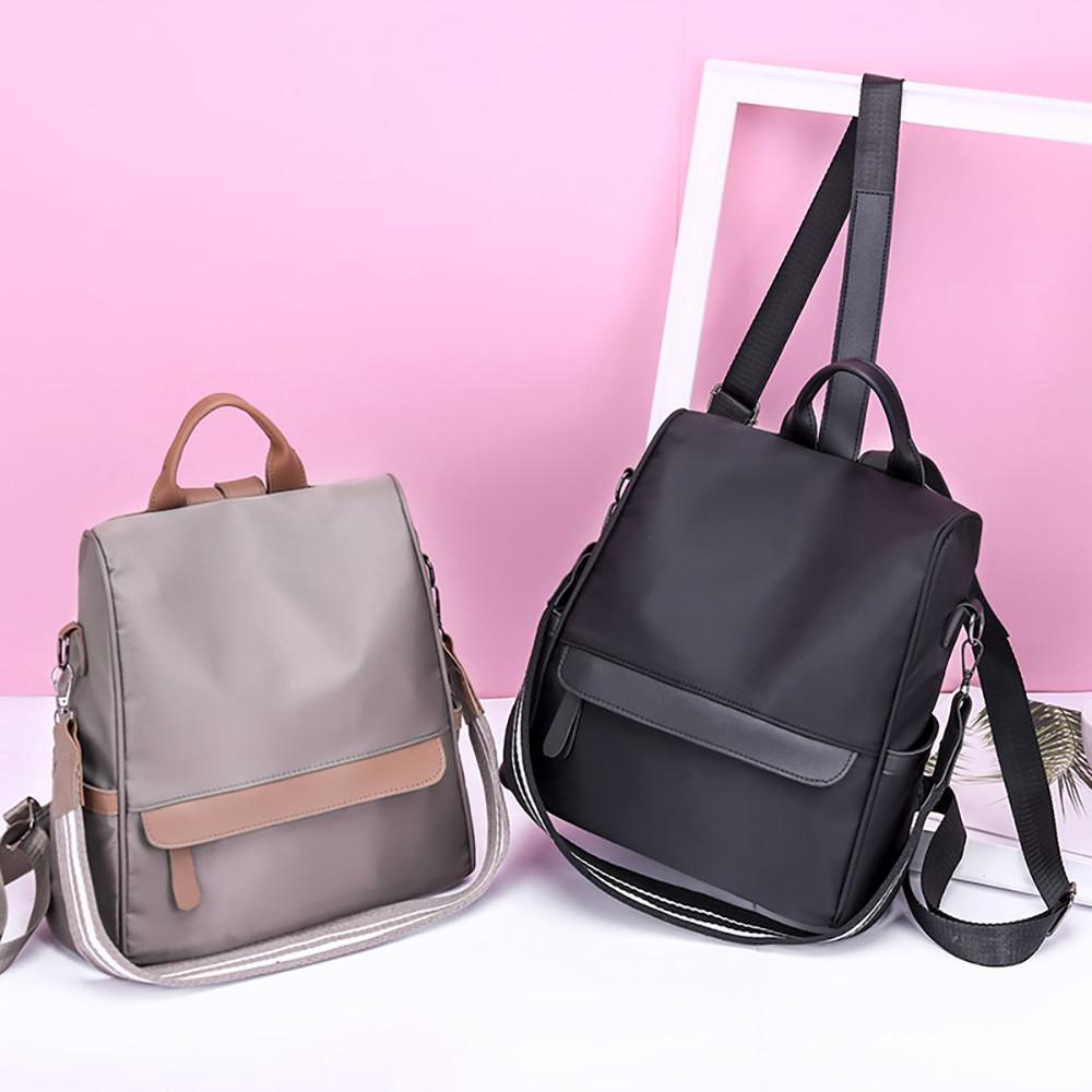 d4b27c492f1f 🍀 Women Backpack Large-capacity School Bag Oxford Cloth Backpack ...