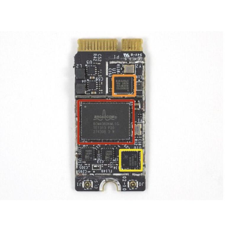 MacBook AIR A1370 A1369 A1465 BCM94360CS2 Dual Band Wifi Bluetooth AirPort  Card