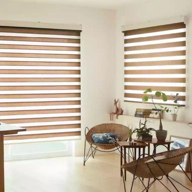 Zebra Blinds Bidai Curtains For All Type Window 6 X 6 Feet