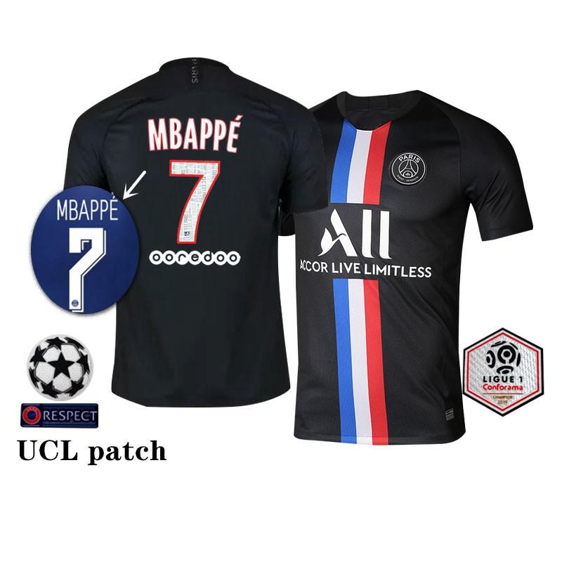 2019 20 Paris Saint Germain Fourth Away Football Team Kit Mbappe Neymar Jr Cavani Shopee Malaysia