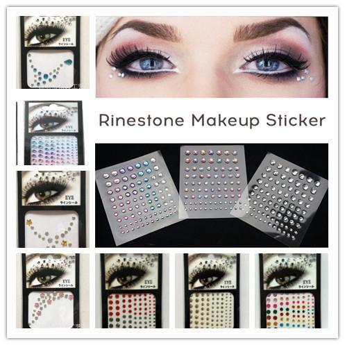 Eyes Crystal Sticker Diamond Makeup