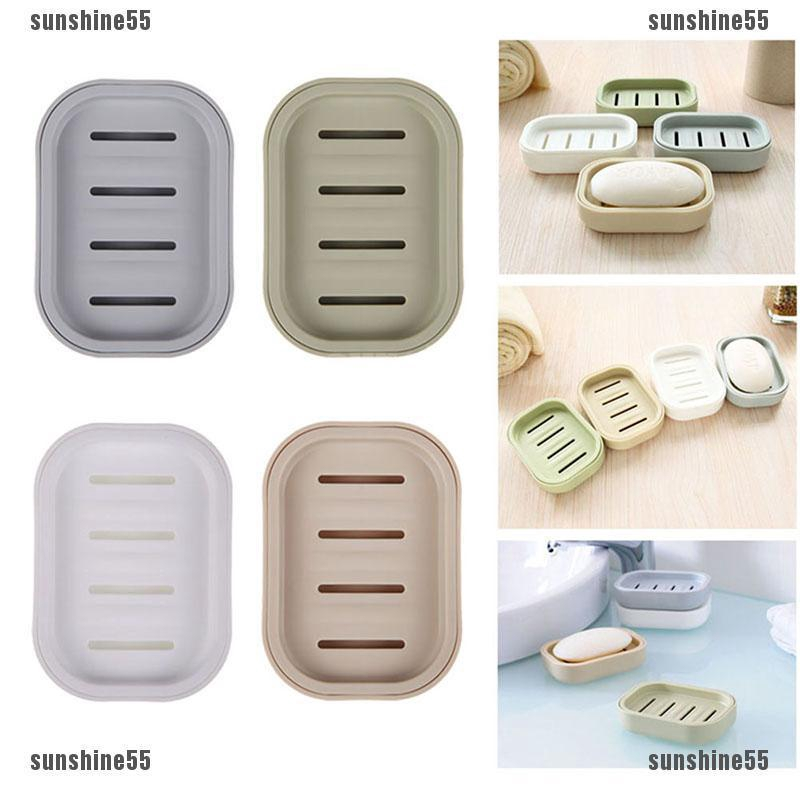 Soap Dispenser Dish Case Holder Container Box for Bathroom Travel Carry Case
