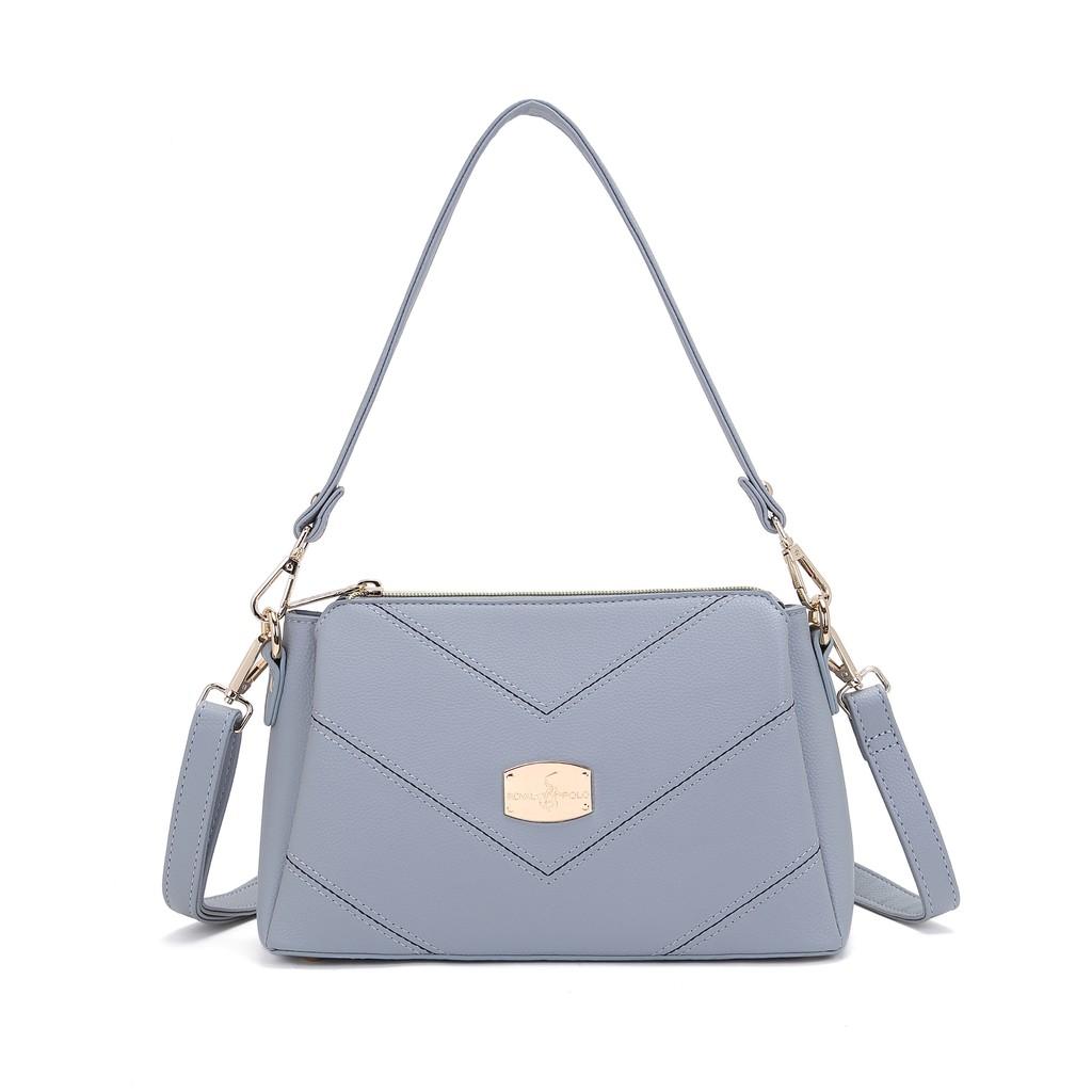 ROYAL POLO Layla Handbag 3 in 1 Set [Free Sling Bag + Make Up Pouch]