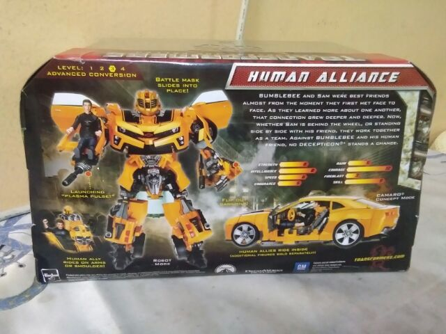 Trasformers human alliance bumblebee | Shopee Malaysia