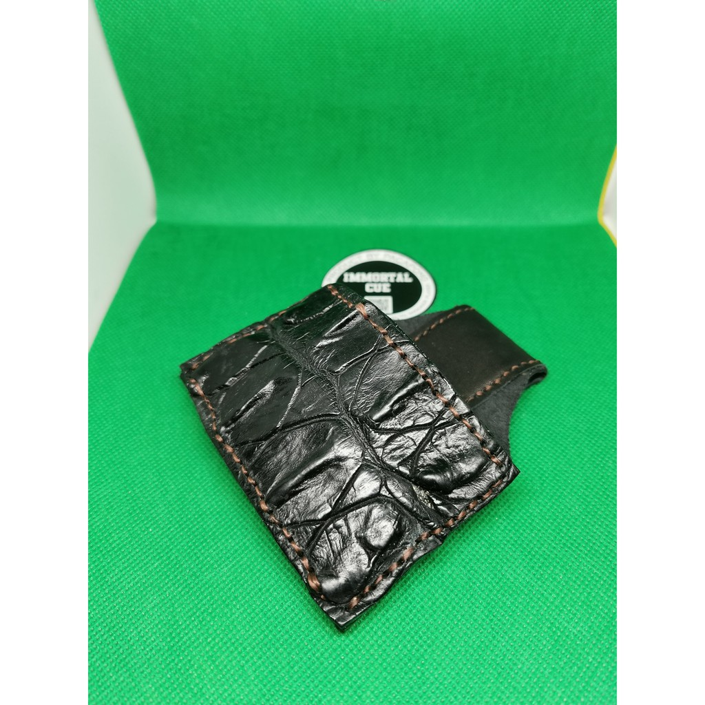 Chalk Poach - Hand Made - Thailand Import - Exotic Leather - Ready Stock