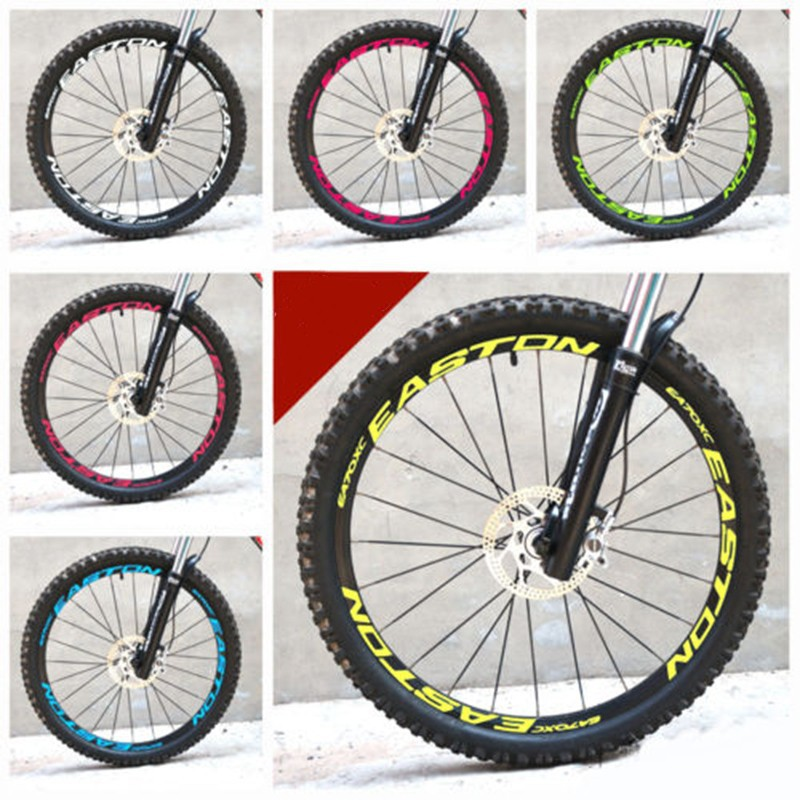 EASTON 26er 27.5er 29er MTB Mountan Bike rim wheel sticker bicycle cycle decal