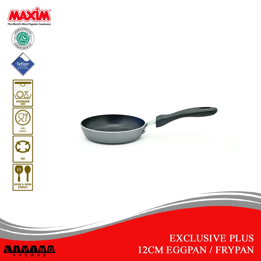 Maxim Exclusive Plus 12cm Frypan Eggpan Frying Pan