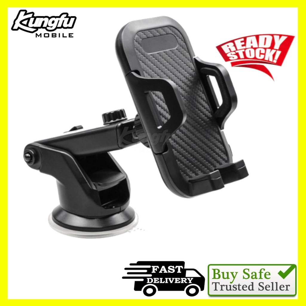 Super Strong Car Phone Holder with Silicone Suction Cup Holder Mobile Phone Stand