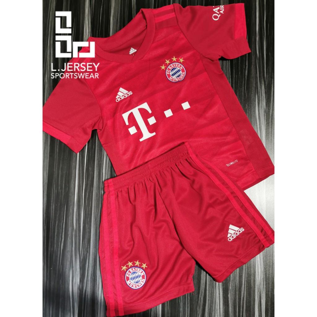 Bayern Kid Home Season 19/20 CLIMALITE Fans Jersey