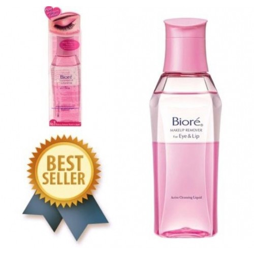 Biore Efficient Activated Lip & Eye Makeup Remover 130ml蜜妮 高效活性眼唇卸妆液130ml | Shopee Malaysia