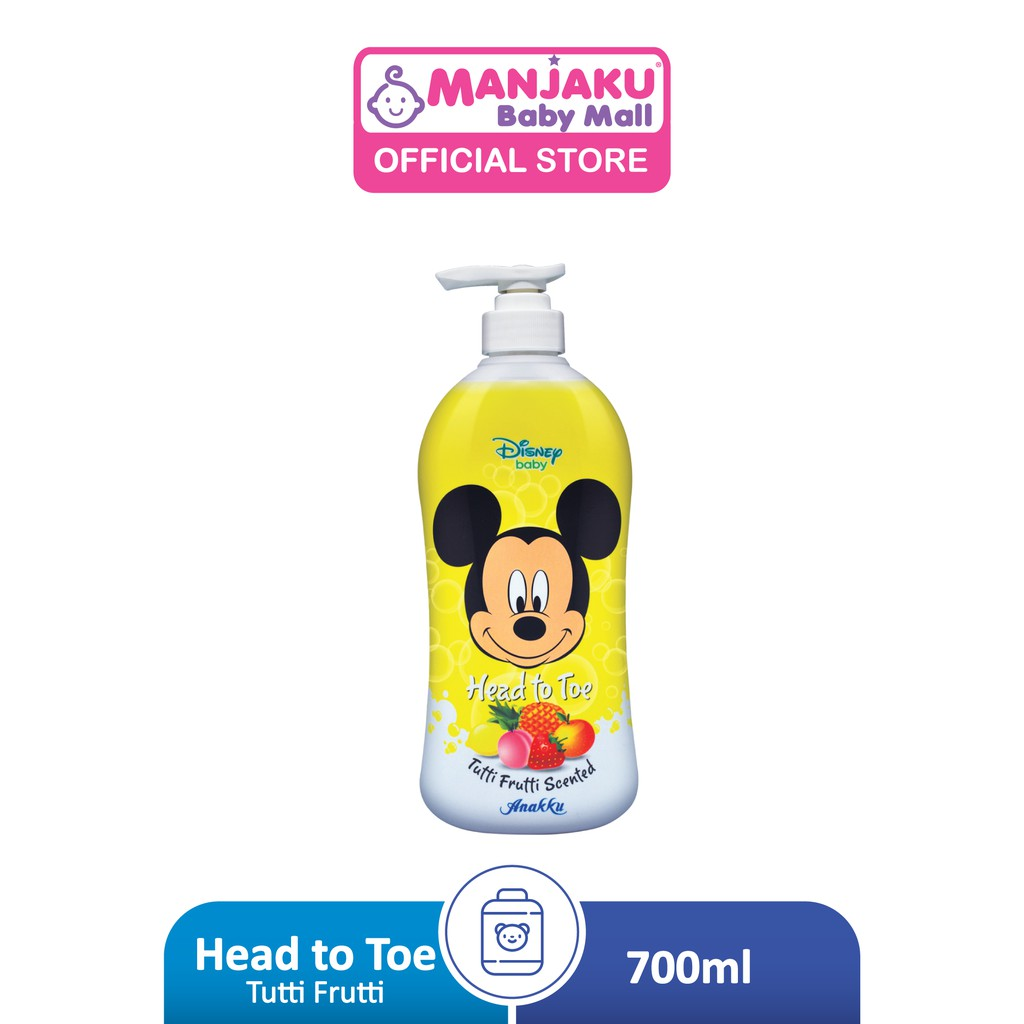 Disney Baby Head To Toe Tutti Frutti Scented - Assorted Color (700ml)