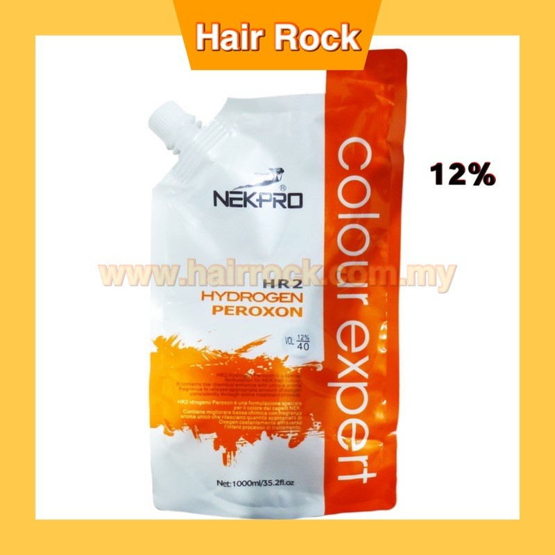 NEKPro Hydrogen Peroxide Salon Use 9% 6% 12% for colouring