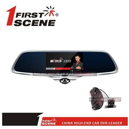 1 First Scene Legend 5'' Touch Screen HD 1080P Fisheye Car Recorder G-Sensor