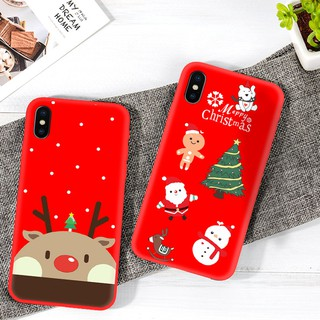Christmas Iphone X Case.Xmas Iphone Case Santa Claus Christmas Tree Snowman Iphone X Case