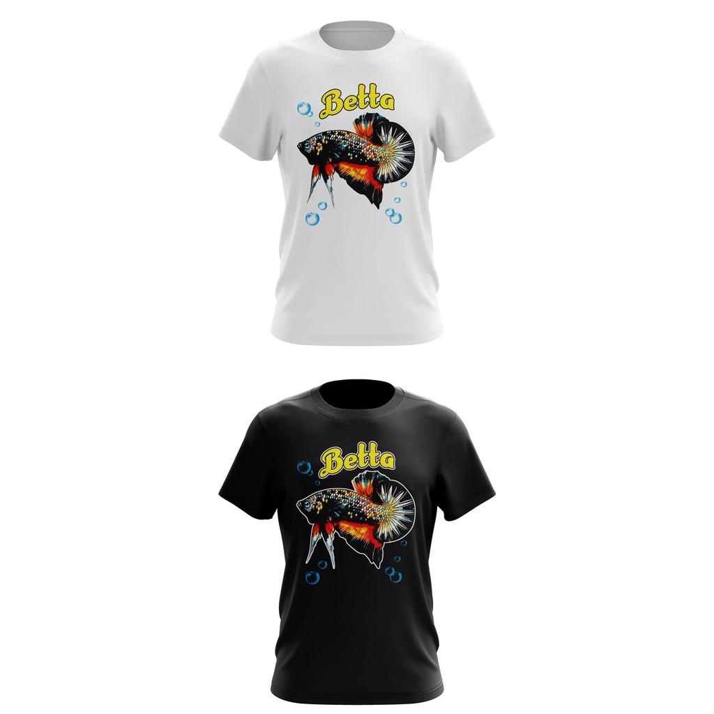 Baju lelaki perempuan Betta tshirt cotton men women unisex design 2